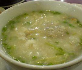 Cháo mắc nhung món ăn say lòng thực khách đến Sơn La