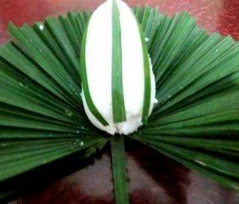 Cơm nắm lá cọ đặc sản dân dã của Phú Thọ
