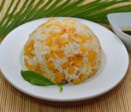 Cơm chay kiểu Thái cho ngày rằm thanh tịnh