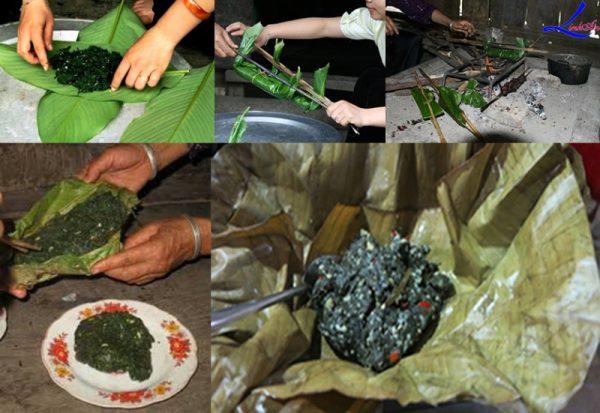 Món ăn từ rêu đá