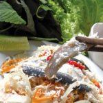 Gỏi cá bỗng sông Lô đặc sản hấp dẫn của Tuyên Quang