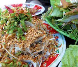 Gỏi cá nhệch Diêm Điền món ngon của biển Thái Bình