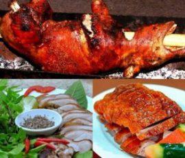 Lợn cắp nách Lai Châu món đặc sản thơm ngon hấp dẫn