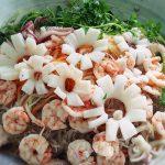 Miến trộn hải sản siêu ngon mà bắt mắt