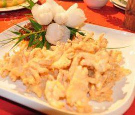 Mực chiên vàng giòn rụm cho bữa cơm cuối tuần