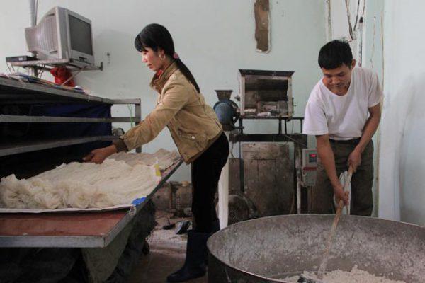 Cách làm mỳ gạo