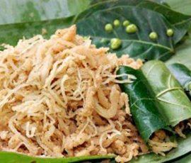 Món nem chạo Quảng Ninh món đặc sản của đất mỏ