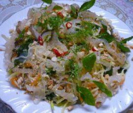 Nộm sứa Thái Thụy món đặc sản nức tiếng của biển Thái Bình