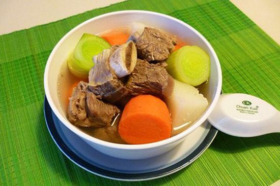 Món súp bò