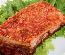 Món thịt heo quay giòn ngon thơm nức