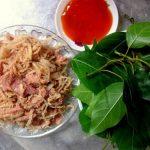 Thịt lợn muối chua món ăn độc đáo của dân tộc Mường