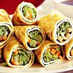 Trứng cuộn rau củ ngon mà cung cấp đủ dưỡng chất