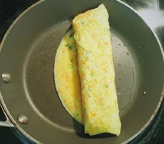 Cuộn trứng lại
