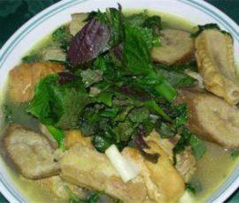 Xáo chuối Lâm Thao món ăn quê nhà dân dã