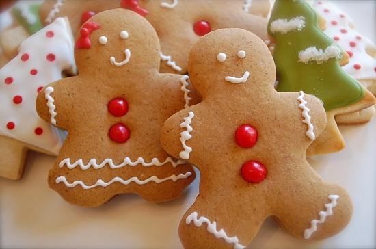 Bánh gừng giòn thơm đẹp mắt cho Giáng Sinh