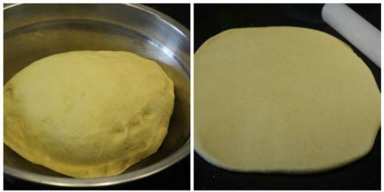 Cho kem ngô ngọt cùng các nguyên liệu vào trộn  bột cho đến khi mịn