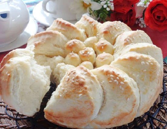 Bánh mì sữa ngon tuyệt cho bữa sáng
