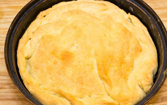 Món bánh nồi gà rau củ ngon bổ dưỡng