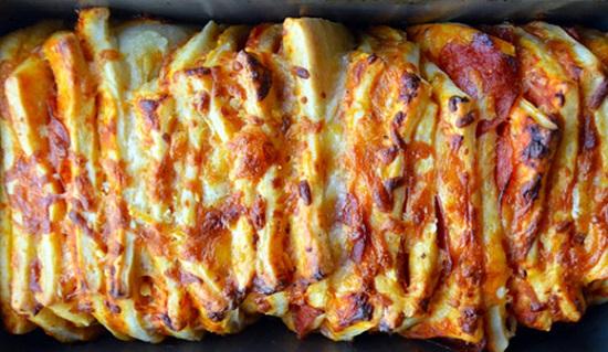 Nướng bánh đến khi ngả sang màu nâu vàng
