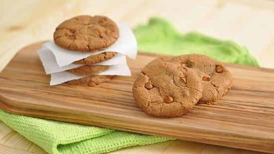 Bánh quy vị bơ quế với socola chip ngọt ngào hấp dẫn