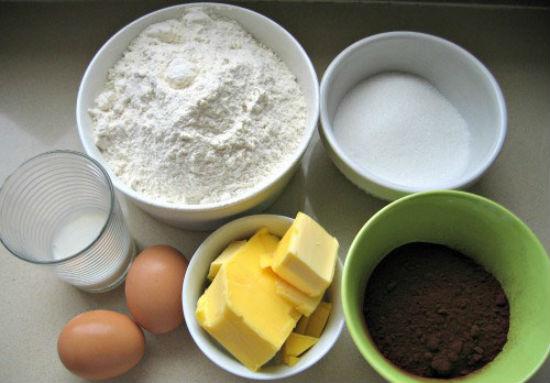 Nguyên liệu làm phần nhân kem