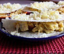 Món bánh trứng cay của Mexico đơn giản tại nhà