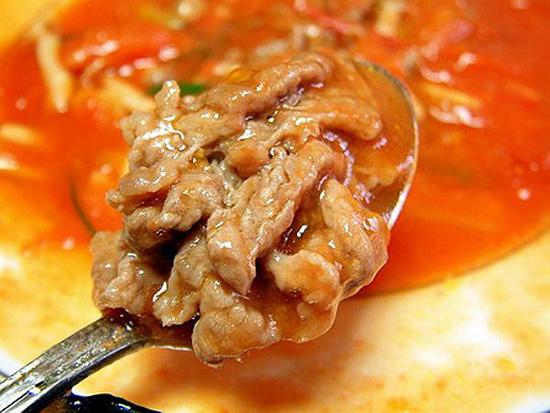 Thưởng thức món bò xào sốt chua ngọt