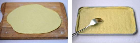 Đem bột ra dàn đều bột với độ dày vừa phải