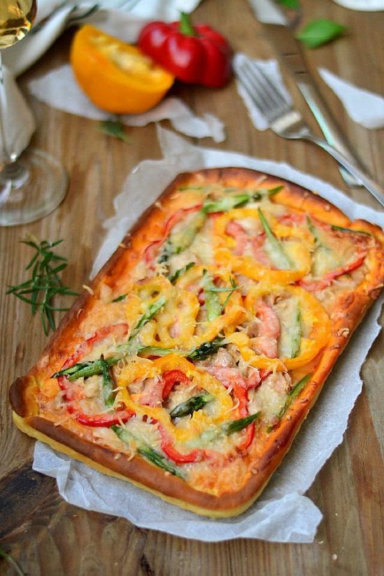 Món bánh Pizza cá ngừ ngon tuyệt