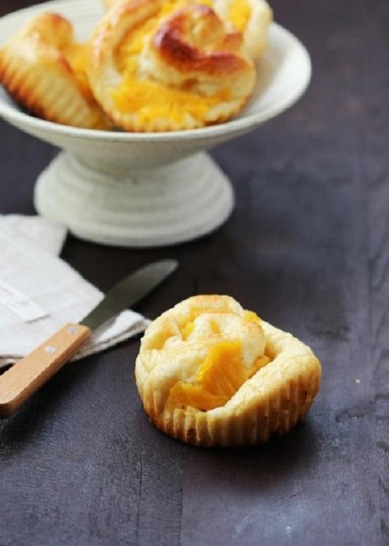 Món bánh dứa hình xoắn ốc ngon mê ly