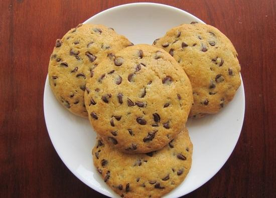 Món bánh quy bơ chocolate thơm ngon nức mũi
