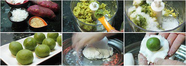 Cách làm bánh trôi nước trà xanh