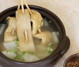 Món canh chả cá kiểu Hàn siêu ngon tại nhà
