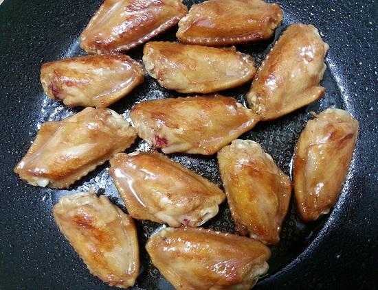 Chiên cánh gà