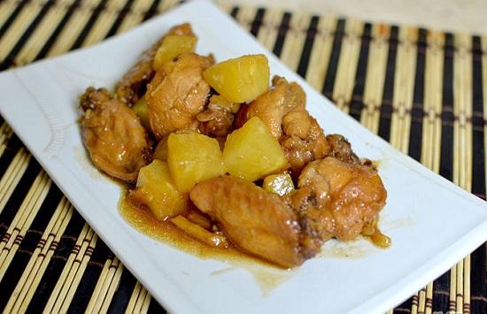 Món cánh gà sốt Teriyaki của Nhật