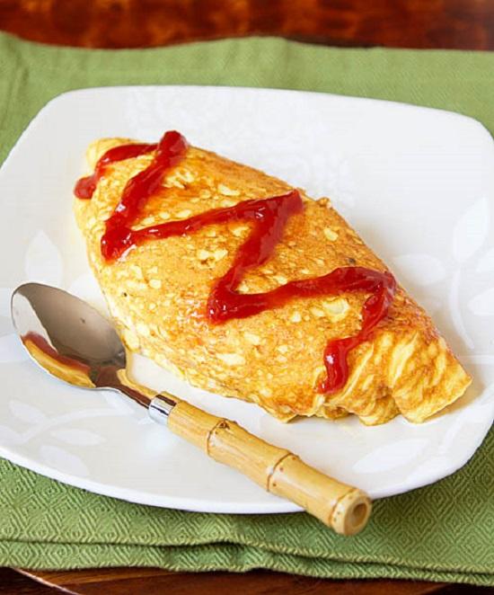 Món cơm bao trứng ngon chuẩn vị Hàn Quốc