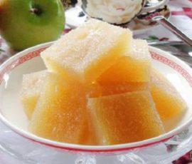 Món kẹo táo dẻo đơn giản tại nhà