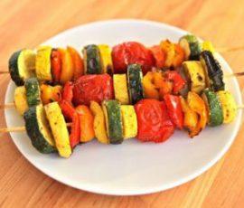 Món rau củ nướng ngon bổ dưỡng