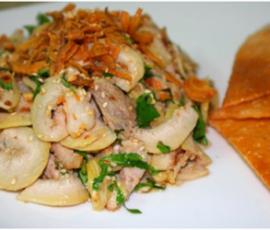 Vả trộn ngon tuyệt mang đậm hương vị miền Trung