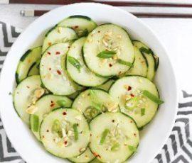 Món salad dưa chuột kiểu Thái