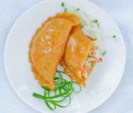 Món bánh gối khoai lang ngọt thơm hấp dẫn