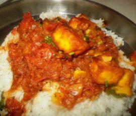 Món cà ri đậu phụ đơn giản tại nhà