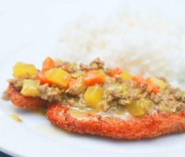 Món Katsu cà ri mới lạ hấp dẫn