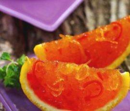 Món mứt cam dẻo ngon thơm vị chanh leo hấp dẫn