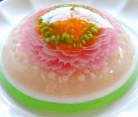 Món thạch 3D vừa ngon vừa đẹp mắt