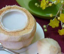 Thạch dừa xiêm thơm mát cho ngày hè