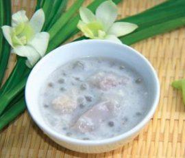Chè khoai sọ bột báng nước cốt dừa ngon tuyệt