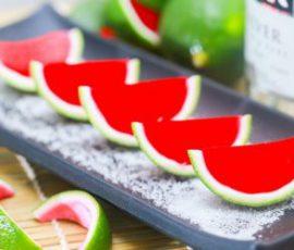 Món thạch dưa hấu ngọt mát giải nhiệt