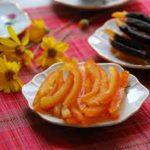 Món mứt vỏ cam đơn giản tại nhà