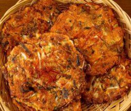 Món bánh pancake đậu xanh kiểu Hàn